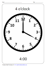 Clock Chart Template Clock Worksheets And Charts
