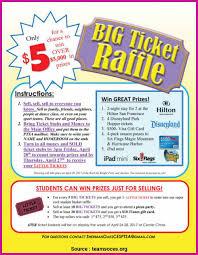 Frequent Gift Card Raffle Flyer Big Ticket Raffle Flyers