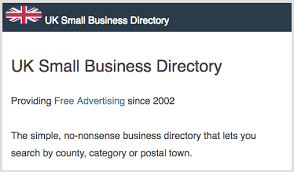 Free UK Business Directories