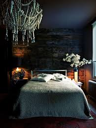 Dark Blue Black Bedroom