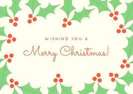 christmas placecard templates christmas postcard template greeting card templates free cards