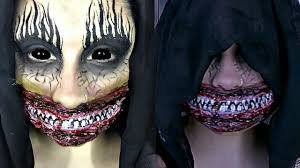 The Smiler Scary Halloween Special Effects Makeup Tutorial