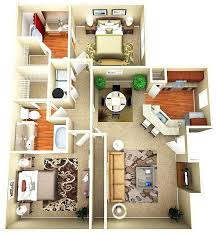 Q1 1 Bedroom Apartment Decor Plans