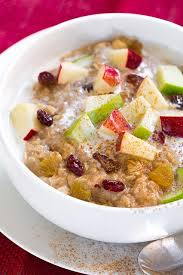 fall ed apple cran raisin oatmeal this oatmeal is 280 calories and it keeps me full until lunch it s like mcdonalds oatmeal but better and it only