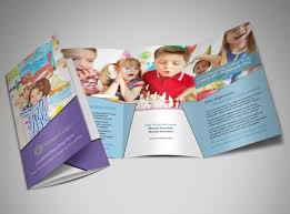 tri fold school brochure template school brochure template school brochure template for education