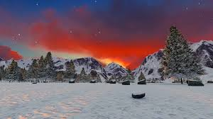 winter mountain backgrounds.  Backgrounds Beautiful Mountain Sunset Winter Landscape Inspiration Motivation  Background Motion Background  Videoblocks In Backgrounds K