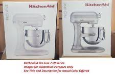 kitchenaid 7 quart proline stand mixer. kitchenaid ksm7586p pro line 7-qt lift stand mixer sugar pearl silver ksm7586psr kitchenaid 7 quart proline h