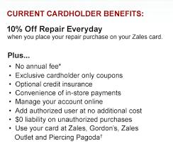 call zales credit card