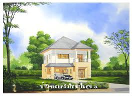 enchanting thai style house plans modern