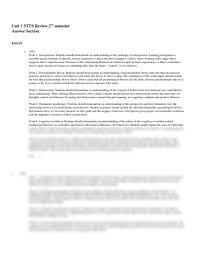 unit psychology stts review answers docx ap psychology psychology ap edition