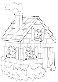Little House Coloring Pages For Preschoolers Loud Online Free