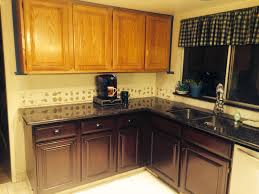 Staining Oak Cabinets Espresso General Finishes Brown Mahogany Gel Stainregular Oak Cabinets