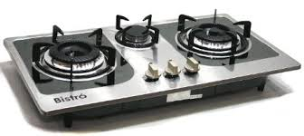 gas stove top. Modren Stove Get Quotations  Propane Gas Stove Built In  Counter Top 3 Burner Cooktop  Range Stainless Steel With