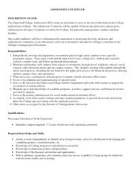 College Admissions Recommendation Letter Sample Admission For
