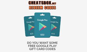 google play gift card code generator no survey no 2016