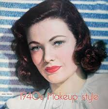 1940 s makeup style