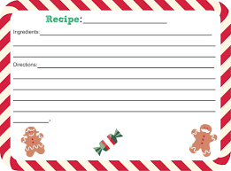 Free Recipe Card Templates For Word Free Thank You Card Templates For Word Best Samples Templates 21