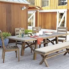 west elm patio furniture. jardine expandable dining table driftwood west elm 999 patio furniture