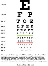 Printable Eye Chart Freepsychiclovereadings Com