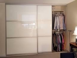 view larger image chicago glass back painted sliding closet doors
