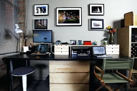 home office with two desks. Office Desks For Two With Home Desk Ideas  Home Office With Two Desks