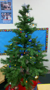 Simple Christmas Ideas For All Around The Classroom  Preschool Classroom Christmas Tree