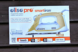 Iron Reviews   Sew Mama Sew & Oliso Pro smartiron (model number TG1600) – Retail price $199.99, found on  Amazon for $146.84 Adamdwight.com