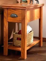 small chairside table. Small Chairside Table Chair Metal End Rustic Side H