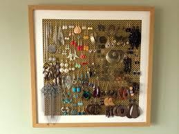 50 homemade earring stand earring storage earring frame earring beautiful ideas