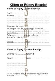 Dog Receipt Syntax Sue Medley Printing And Websites For Cat And Dog Breeders