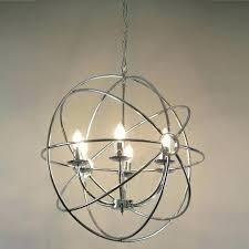 chrome globe chandelier crystal globe chandelier medium size of chandeliers crystal globe chandelier entryway silver orb