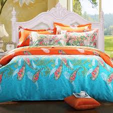 stylish comforter sets modern teal patterned full size obcs71850 0