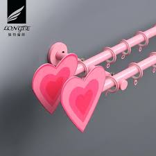 heart curtain pole heart of house curtain pole homebase pictures design