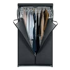 closet hanging rack closet hanging rack classic zip up fabric wardrobe closet hanging rack clothes storage