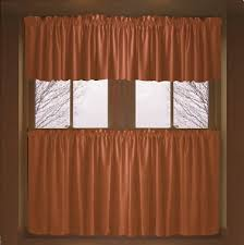 curtains rust colored kitchen curtains decor rust colored kitchen