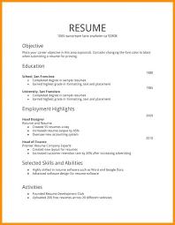 Plain Text Resume Sample Plain Text Resume Template Resume Templates Plain Text Format