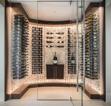 Wine Cellar In Kitchen Floor Cru Custom Wine Cellars