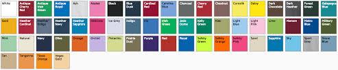 Gildan Color Chart 5000 Gildan 5000 Shirt Screen Printing