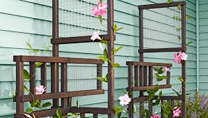 Small Picture Freestanding Trellis