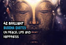 Buddha Quotes On Happiness Adorable 48 Brilliant Buddha Quotes on Peace Life Happiness Wealthy Gorilla