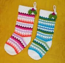 Crochet Stocking Pattern Enchanting 48 Free Christmas Stockings Crochet Patterns CRAFTS Crochet