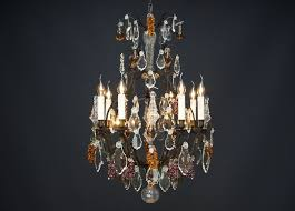 french fruit chandelier in louis xv style re a cage 0