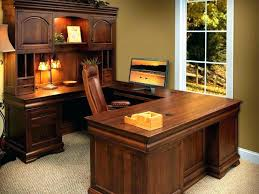 u shaped computer desk. U Shaped Computer Desk Wrap Kidney Executive Desks L With Hutch Cheap .