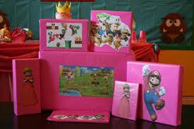 Super Mario Bros Bedroom Decor Super Mario Birthday Party Featuring Princess Peach Chica And Jo