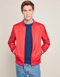 blue red reversible er jacket