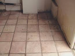 whitewashed stained mexican saltillo paver tiles