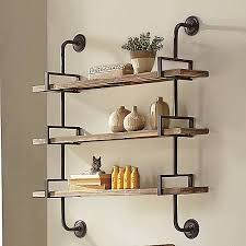 Small Picture Best 25 Industrial wall shelves ideas that you will like on