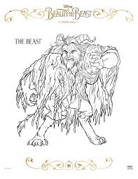 Check these out, maybe you like that too. Free Printable Beauty And The Beast Coloring Pages