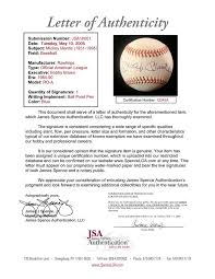 What Is 3rd Party Autograph Authentication What Is Jsa Or Psa