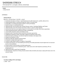 Buying Assistant Sample Resume Assistant Buyer Resume Sample Velvet Jobs 1